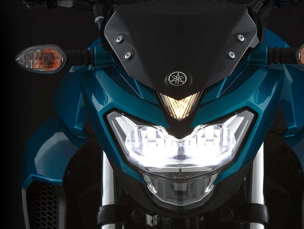 FZ25 Luces altas